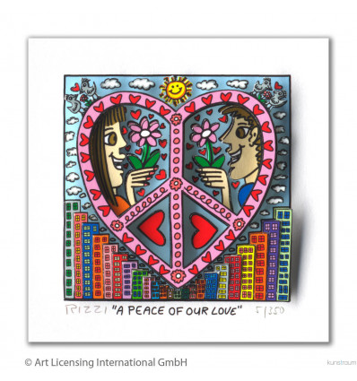 James Rizzi / A peace of our love