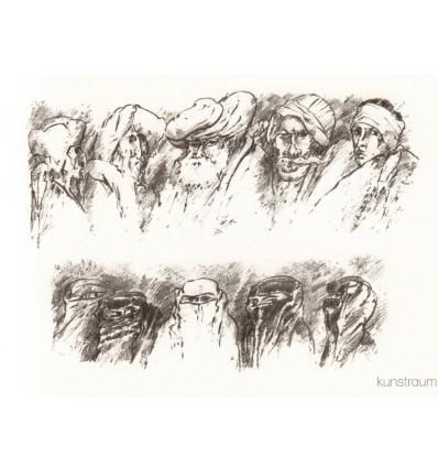 Günter Grass / Der fliegende Koffer 3  / handsigniert
