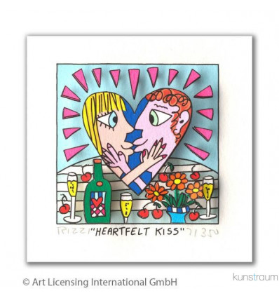 James Rizzi 3 D / A cup of love