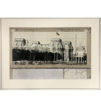 The Umbrellas, Japan-USA / handsigniert von Christo und Jeanne Claude