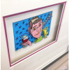 James Rizzi 3D / A pair of pears/ gerahmt