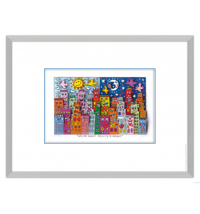James Rizzi - Day Or Night - My City Is Bright