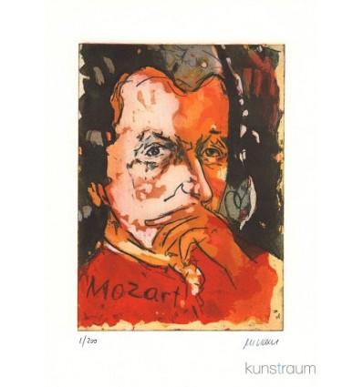 Mozart / gerahmt